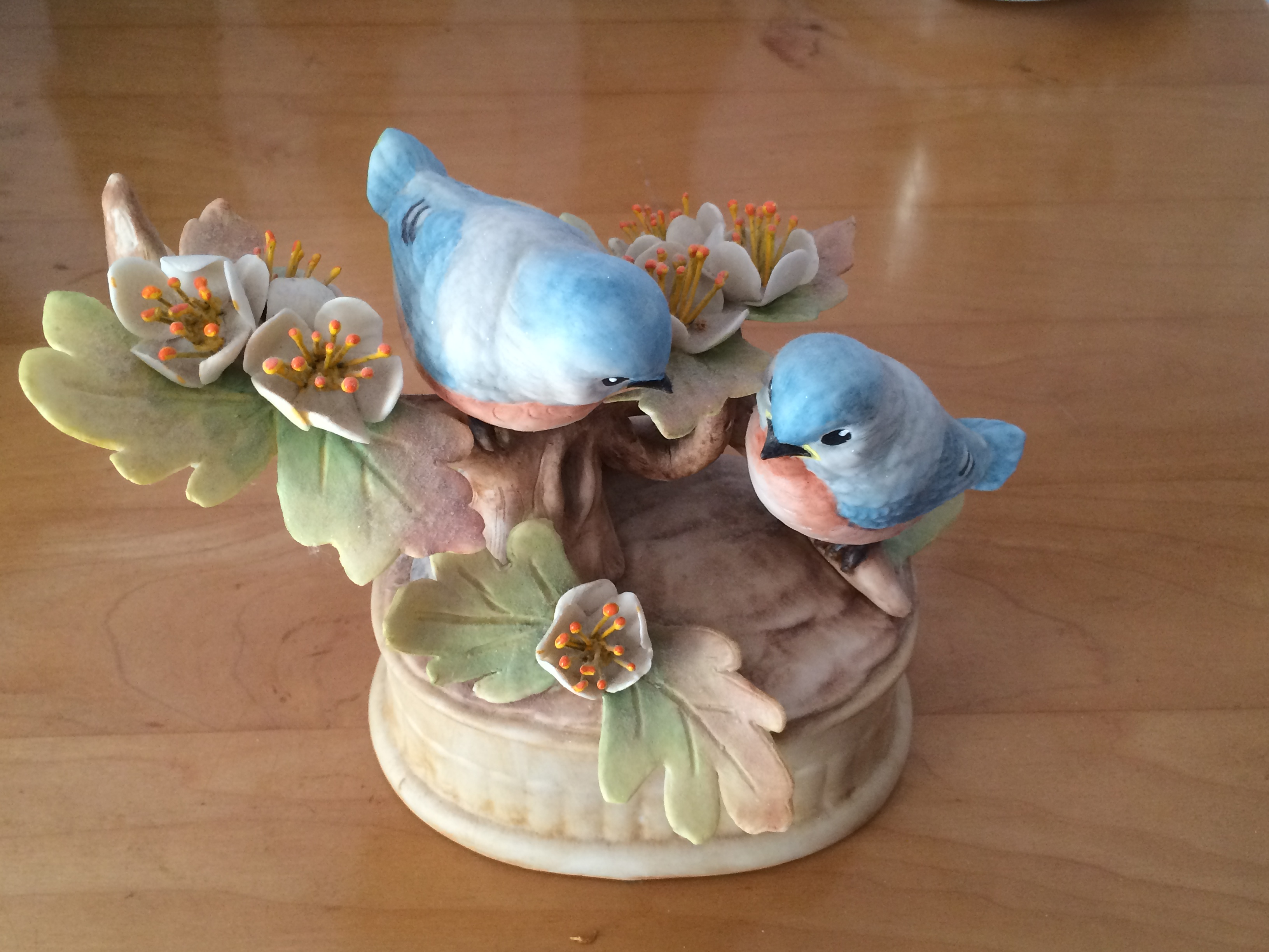 handpainted porcelain by Helen